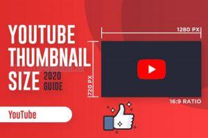 Kích thước ảnh thumnail Youtube
